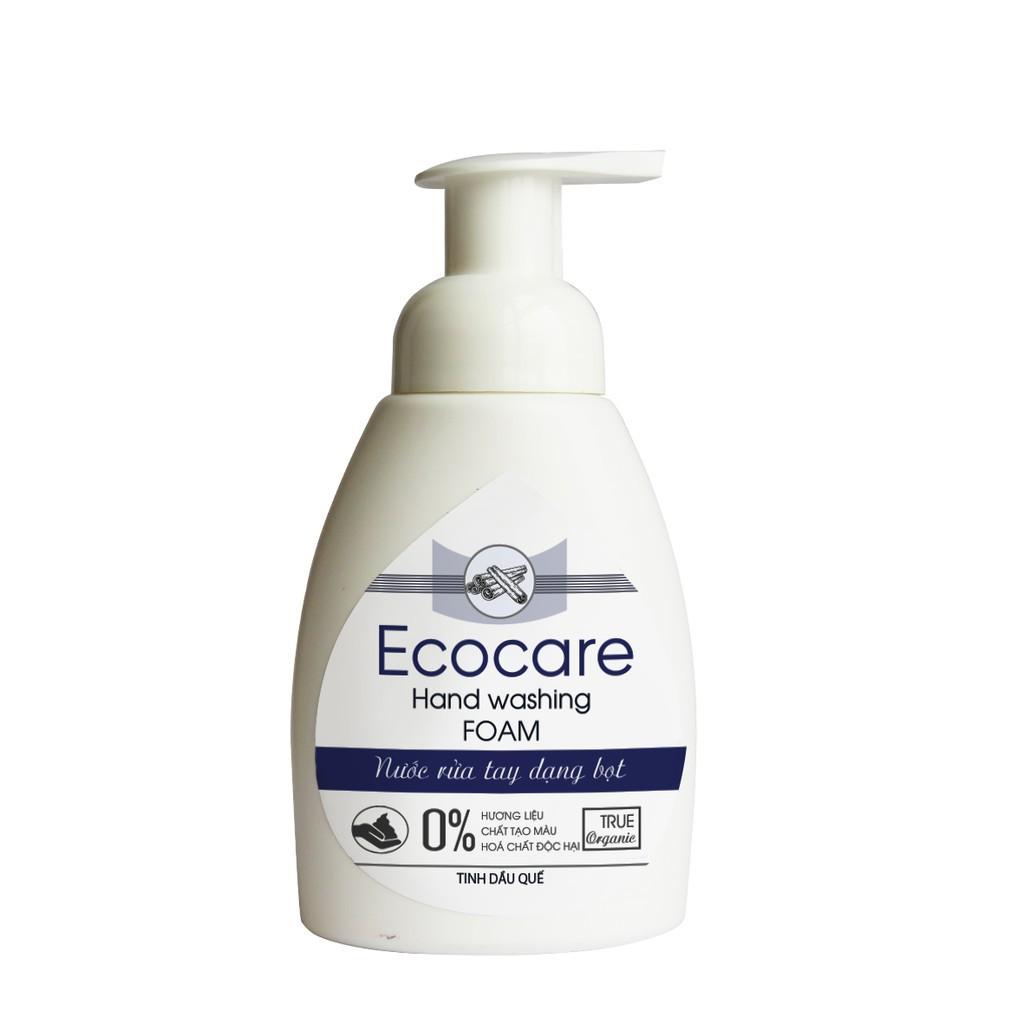 ecocare Nước rửa tay hữu cơ diệt khuẩn dạng bọt hương Quế 250ML sach