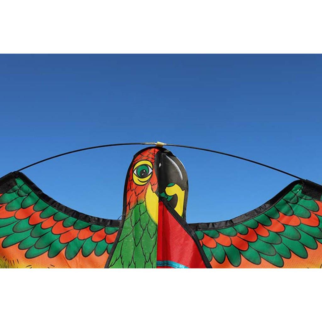 💗Sunei💗1Pc Parrot Kite Bird Outdoor Kites Flying Toys For Children Kids Gifts