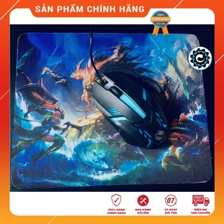 [Combo] Chuột Máy Tính Gaming Sky9 LED RGB Cùng Tấm Lót Chuột – Combo Chơi Game Giá Rẻ
