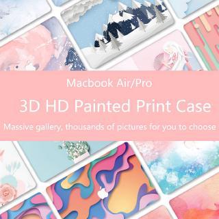 Sticker dán bảo vệ laptop + tấm phủ bàn phím cho Apple Macbook Air 13 A1932 Pro 15 Pro 13.3 A2159