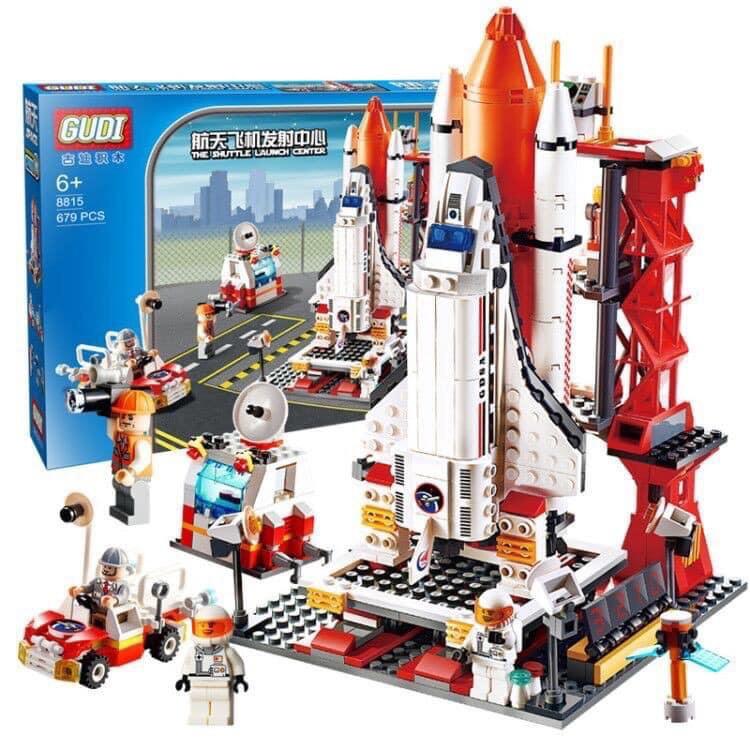 [Rẻ Vô Địch] Lego Xếp Hình Gudi 8815 – Trung Tâm Phóng Tàu Vũ Trụ