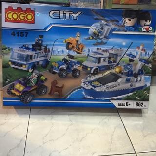 Lego City-Mã 4157-862pcs