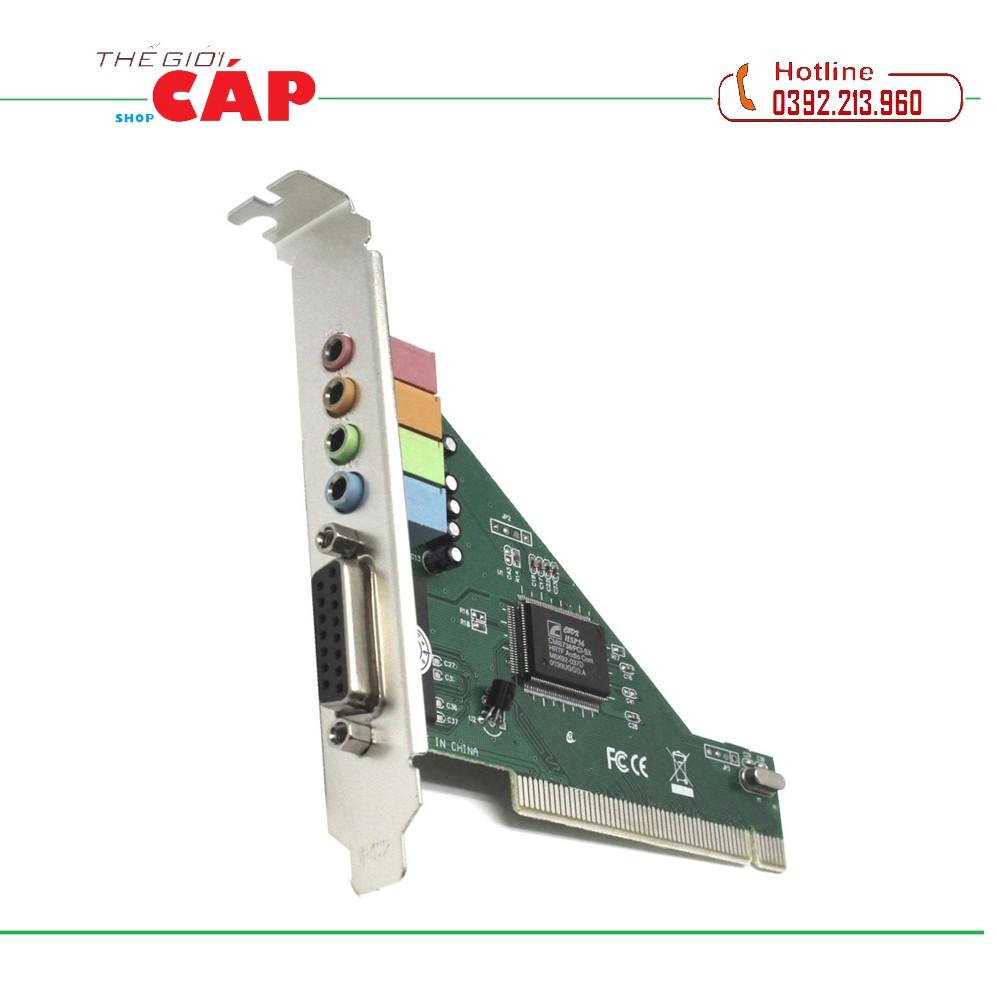 Card Chuyển Đổi PCI Sang Sound 4.1