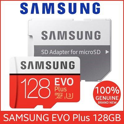 (Bảo hành 5 năm) Thẻ nhớ MicroSD Samsung EVO Plus 128GB U3 4K - W90MB-R100MB