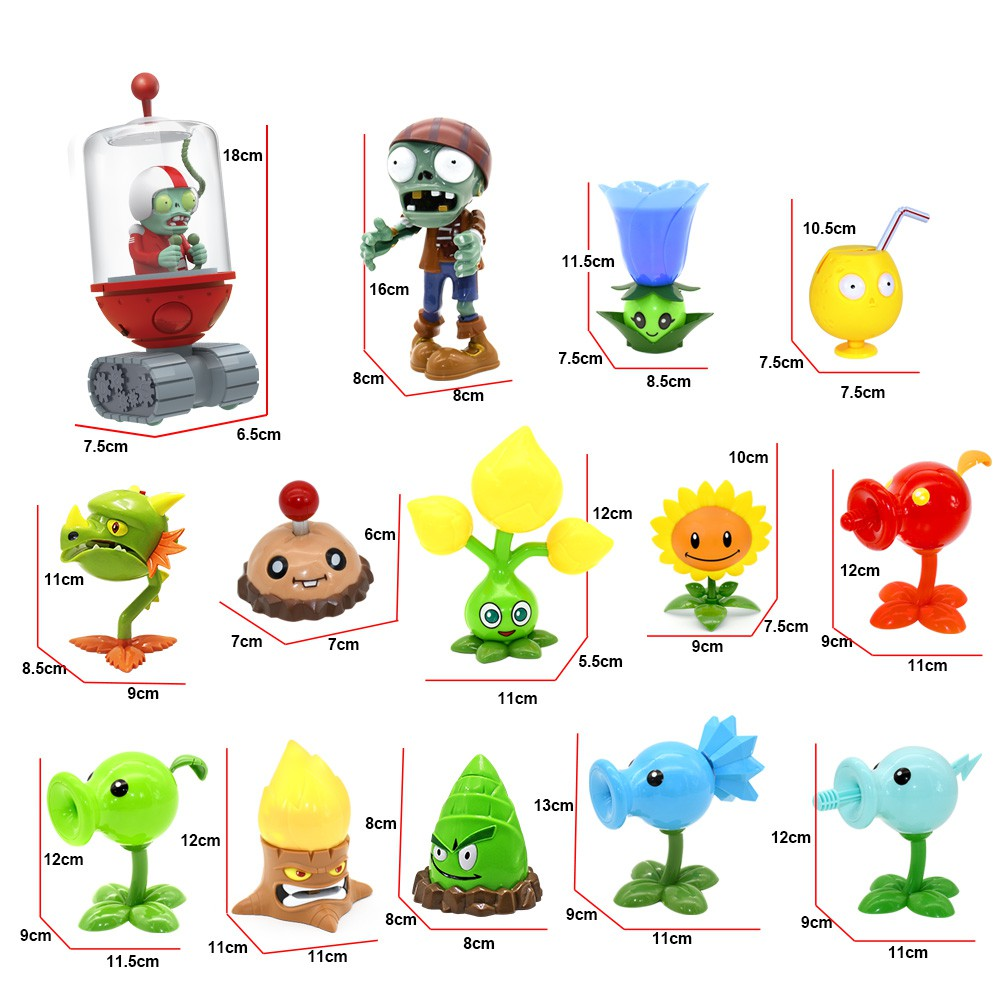 Toy Gift Shooter Action-Figure Shooting-Light Sound-Model Plants-Game Zombies Vs. Electric