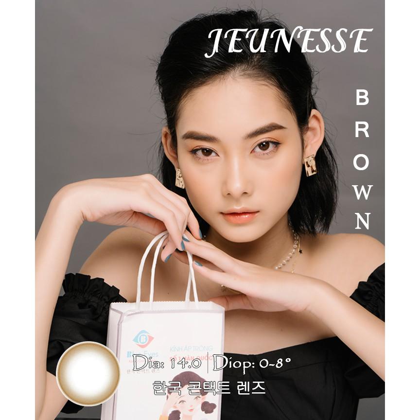 JEUNESSE BROWN - Kính áp tròng Hàn Quốc