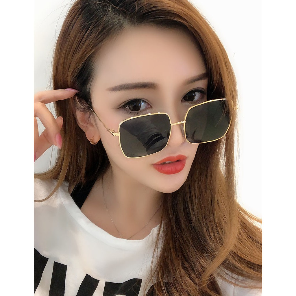 2021 New Ink Mirror Women's Korean Version Of The Tide Street Shot Round Face Net Red Star With The Same...