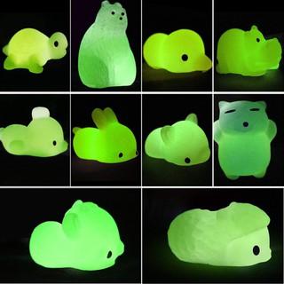 (MS88) Bộ 50 đồ chơi Squishy Mochi phát sáng giúp giảm căng thẳng