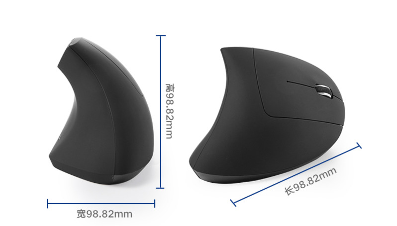 NEW Wireless Mouse Ergonomic Optical Colorful Light Wrist Healing Vertical Mice Gaming Mouse Gamer Free Mouse Pad