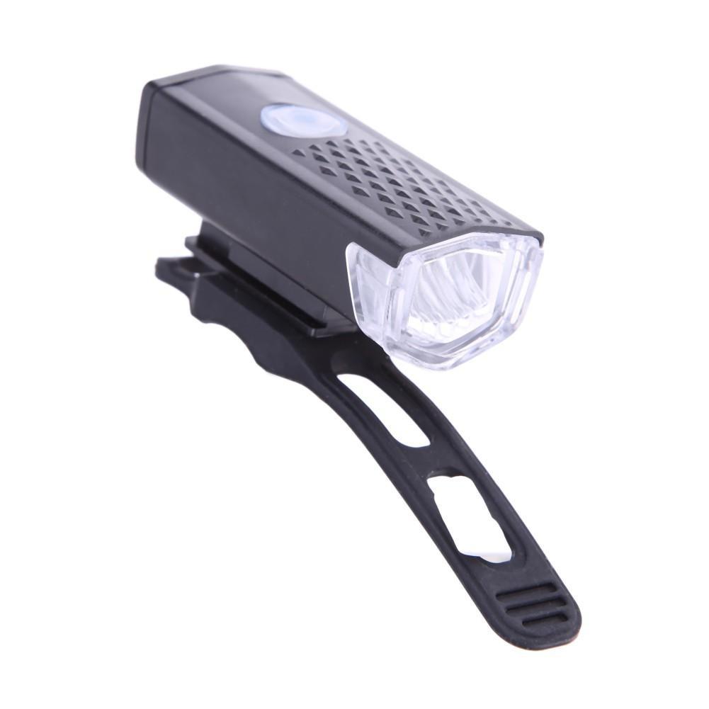 Đèn pha xe đạp có cổng sạc USB 300LM CREE LED