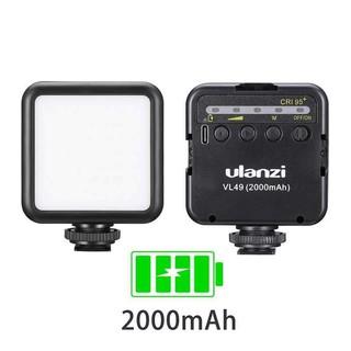 Đèn Led Ulanzi VL49 phiên bản mới – Đèn quay phim pin sạc 2000mAh