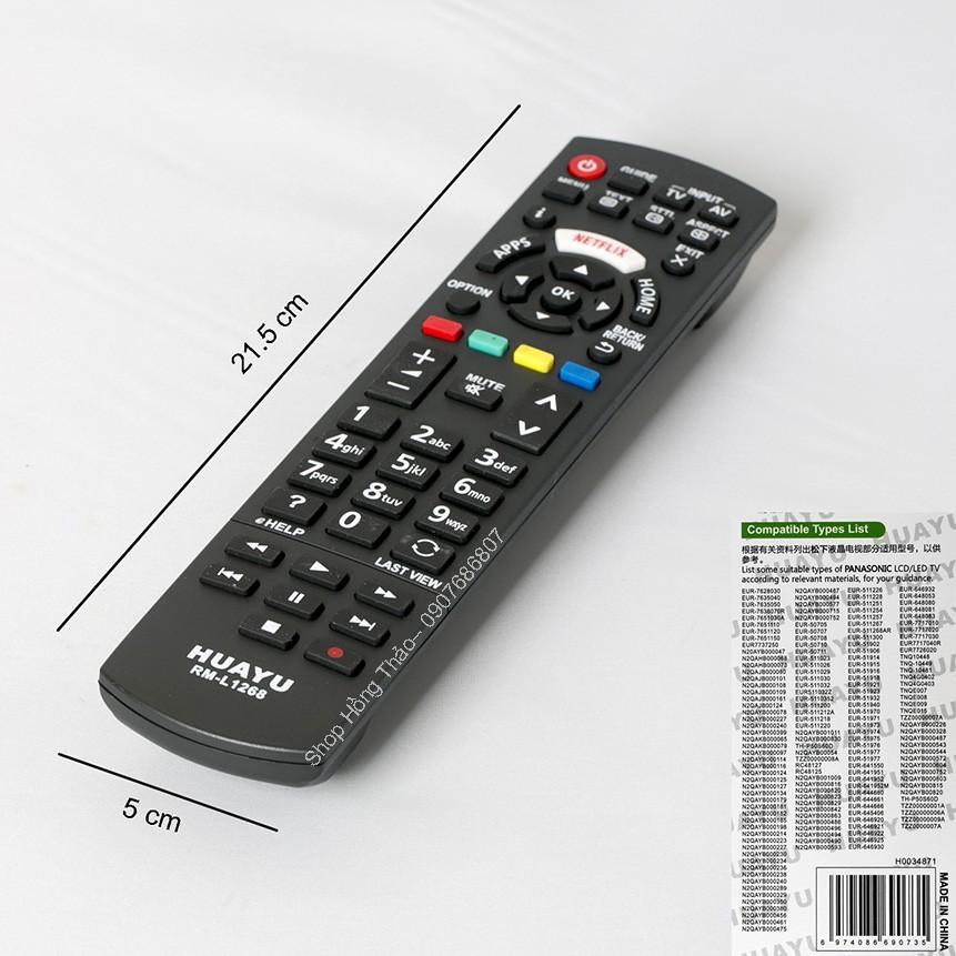 Remote Tivi Huayu for Panasonic RM L1268 có hộp - 2783771 , 865856793 , 322_865856793 , 75000 , Remote-Tivi-Huayu-for-Panasonic-RM-L1268-co-hop-322_865856793 , shopee.vn , Remote Tivi Huayu for Panasonic RM L1268 có hộp