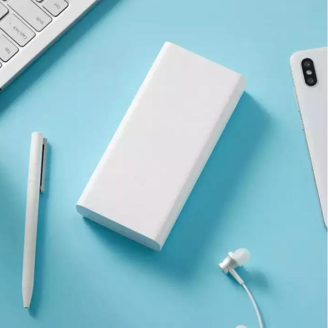 Pin sạc dự phòng 20000mAh Xiaomi gen3 sạc nhanh 18w cho iPhone IP Samsung Oppo iPad Dung lượng cao chính hãng Xiaomi