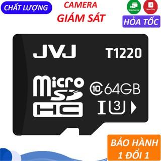Thẻ nhớ JVJ micro SDHC 64GB/32GB/16GB/8GB/4GB/2GB chuyên dụng tôc độ cao – Bảo hành 1 năm 1 đổi 1