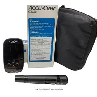 (Chính Hãng) TRỌN BỘ Máy đo_Hộp 25 que_24 kim Fastclix đường huyết, Accu-Chek Guide, Sản xuất tại Mỹ,Có Tem niêm yết thumbnail