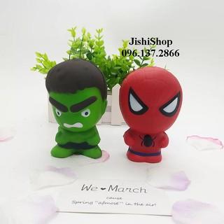 (22) Squishy siêu nhân Hulk Xanh deli