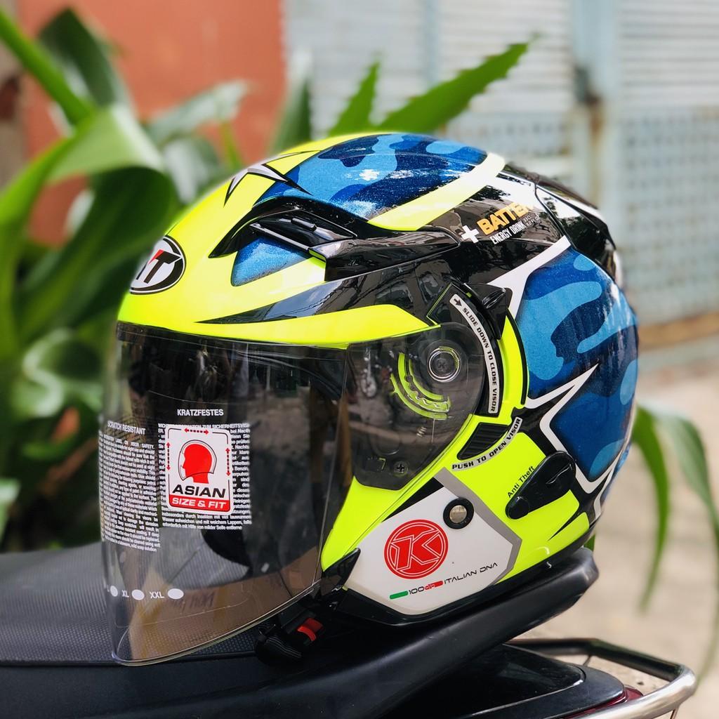 Nón bảo hiểm 3/4 KYT Venom ESPARGARO 2016
