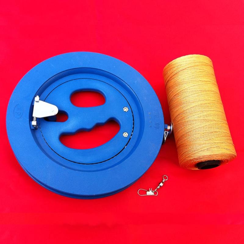 Kite Line Wheel String Winder Winding Reel Grip Winding Machine Tool