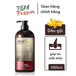Dầu gội ngăn rụng tóc kích thích mọc tóc nhanh P&M Passion PHÁP NHẬP KHẨU CHÍNH HÃNG chăm sóc da đầu 1000ml thumbnail