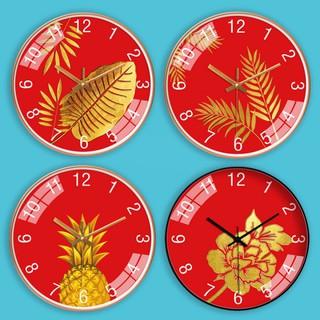 Đồng hồ treo tường kim trôi NGŨ QUÝ đón Tết 2021 30cm (5 kiểu, FreeShip, tặng pin và đinh) AOBA36-40