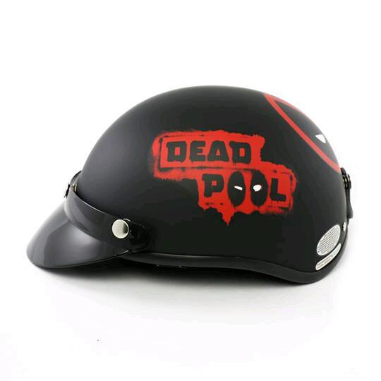 Mũ Phượt Deadpool gắn lưỡi trai