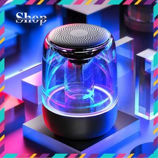 Loa bluetooth 1000mAh C7 tích hợp đèn LED hỗ trợ thẻ nhớ TF, cổng kết nối máy tính AUX 3.5mm, bluetooth 5.0 model C7 thumbnail