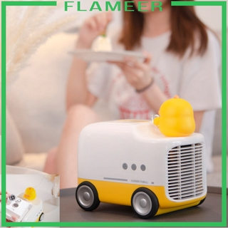 [FLAMEER]Portable Air Conditioner Cooling with Atmosphere Light for Room Indoor
