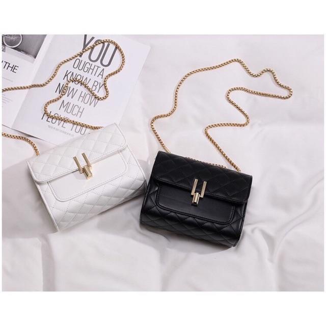 Túi xách nữ thời trang 🔥 FREESHIP 🔥Túi xách nữ khóa xoay chữ Y sang chảnh