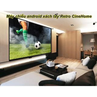 Siêu máy chiếu mini WJ L7 Retro CineHome – Home Decor Furniture