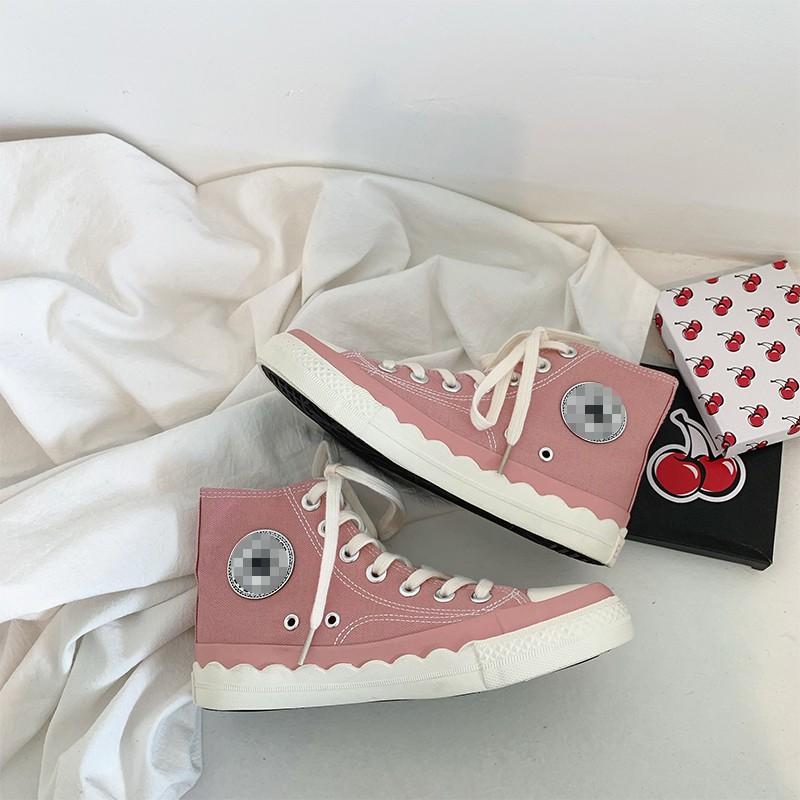 giày vải cổ cao cổ điển - 22667935 , 2639594694 , 322_2639594694 , 331200 , giay-vai-co-cao-co-dien-322_2639594694 , shopee.vn , giày vải cổ cao cổ điển