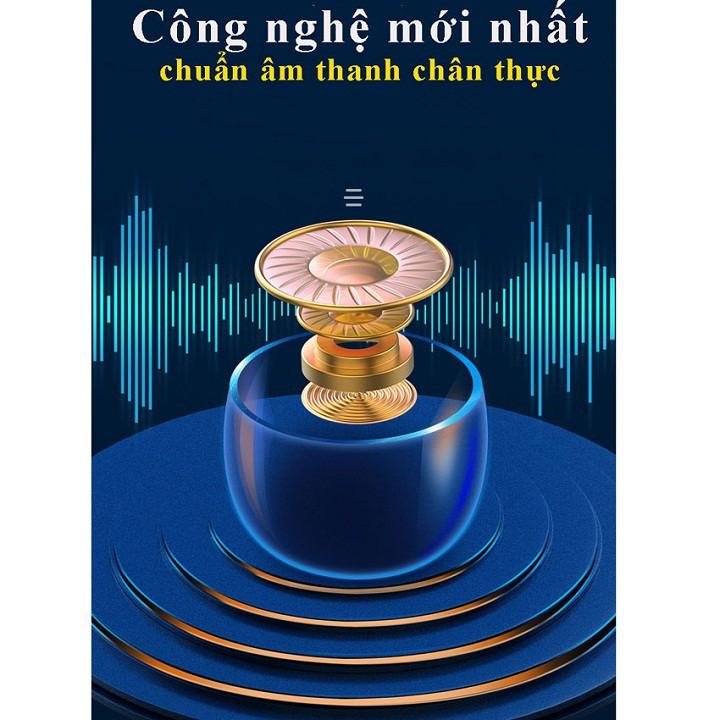 [Nhập mã AHAC50KD giảm 50K] Tai nghe Bluetooth không dây TWE F 9 V5.0 phong cách đẳng cấp, âm thanh tốt, tay ghe, bass
