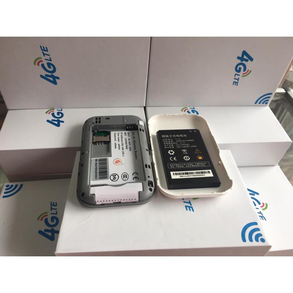 [Mã 267ELSALE hoàn 7% đơn 300K] Bộ phát sóng wifi từ sim 4G MIFI LTE