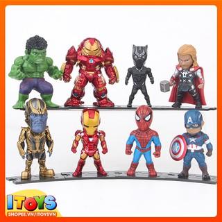 Mô hình 8 nhân vật Marvel trưng bày tuyệt đẹp – ITOYS