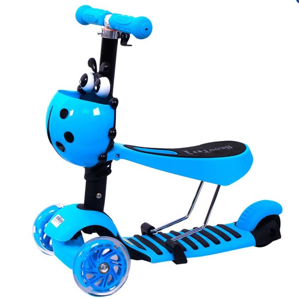 Xe trượt Scooter 3 trong 1 nhiều màu