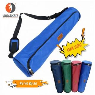 Túi đựng thảm Yoga TPE 6mm 8mm cao cấp khóa mở hai đầu có bản đeo chống nước Hùng Yến Sport