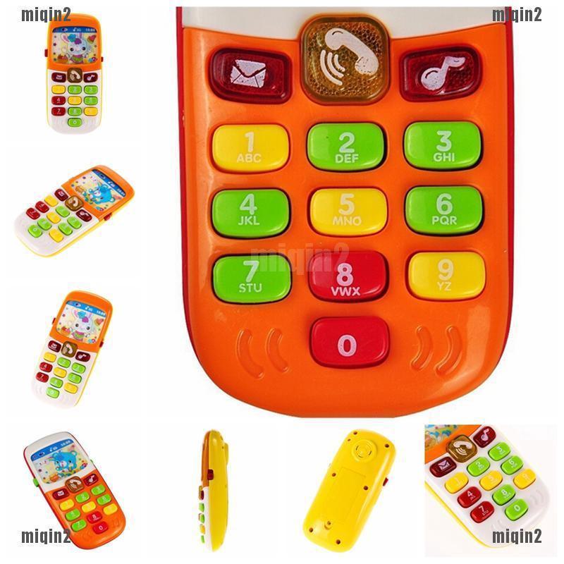 Điện thoại đồ chơi phát nhạc thú vị dành cho trẻ em