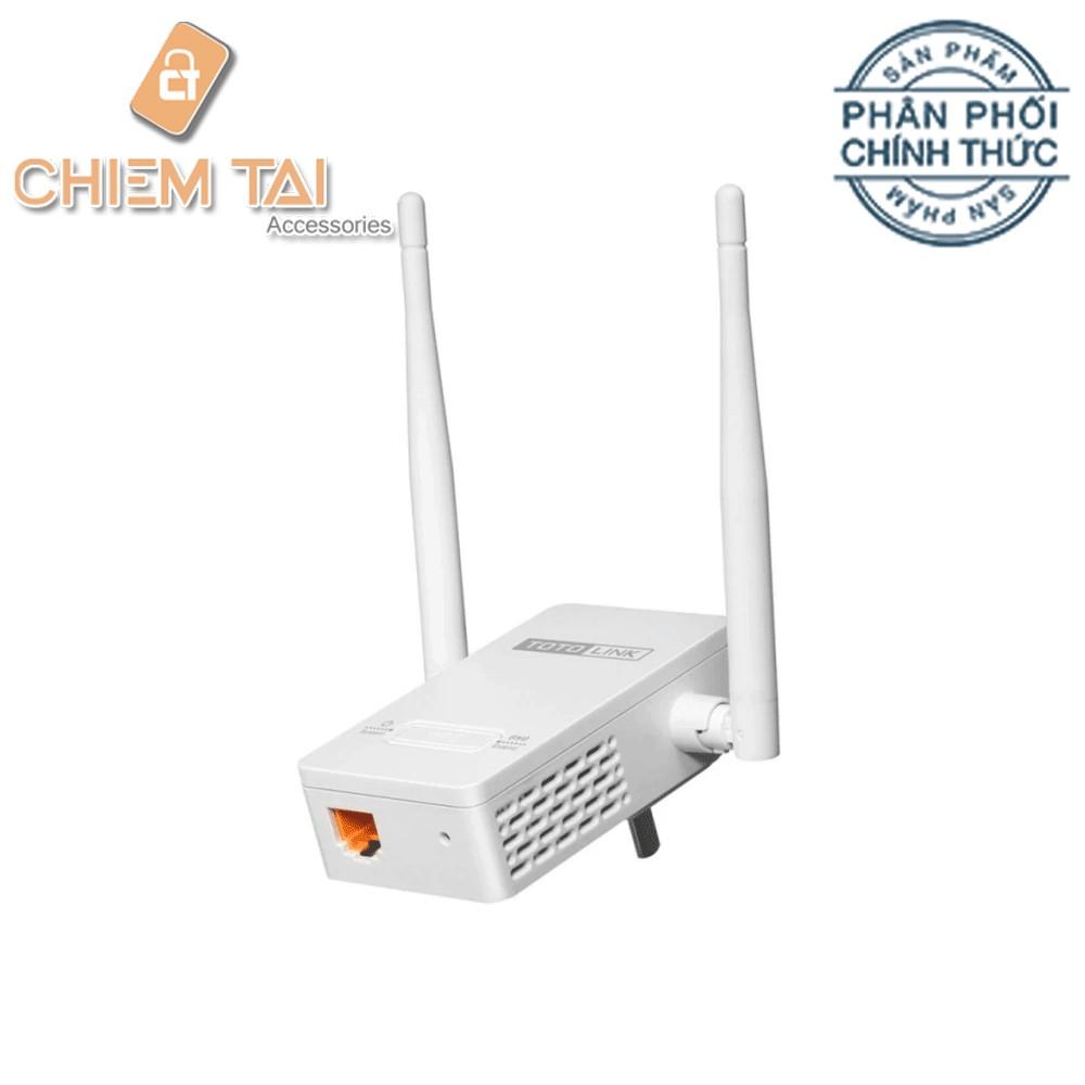 Thiết bị phát wifi kèm repeater TotoLink EX200 (Bảo hành 24 tháng)