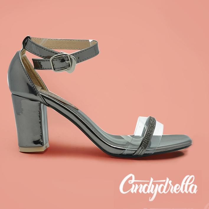 Giày sandal cao gót nữ Cindydrella c336 nhiều màu