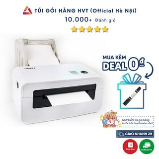 Máy in nhiệt HVT in đơn hàng , HPRT N41 dùng giấy in nhiệt tự dính gói hàng siêu nhanh