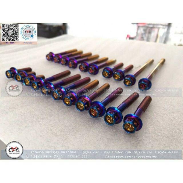 Full bộ ốc xanh Titan cho Exciter 150 hàng nhập thái lan cao cấp - 2720844 , 1087906067 , 322_1087906067 , 530000 , Full-bo-oc-xanh-Titan-cho-Exciter-150-hang-nhap-thai-lan-cao-cap-322_1087906067 , shopee.vn , Full bộ ốc xanh Titan cho Exciter 150 hàng nhập thái lan cao cấp
