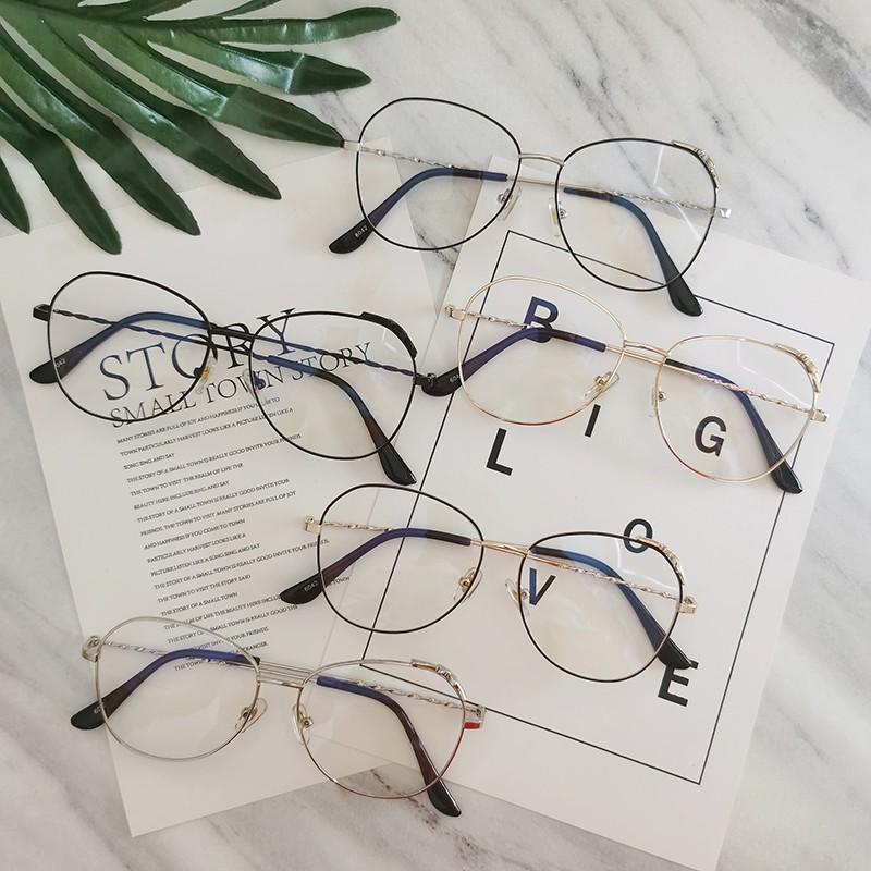 Kính mắt 2020 chống ánh sáng xanh/bức xạ với bộ lọc quang học bảo vệ mắt trang trí nơ dễ thương cho nữ