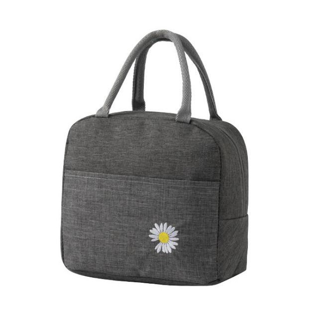 Túi đựng hộp cơm giữ nhiệt có khóa kéo