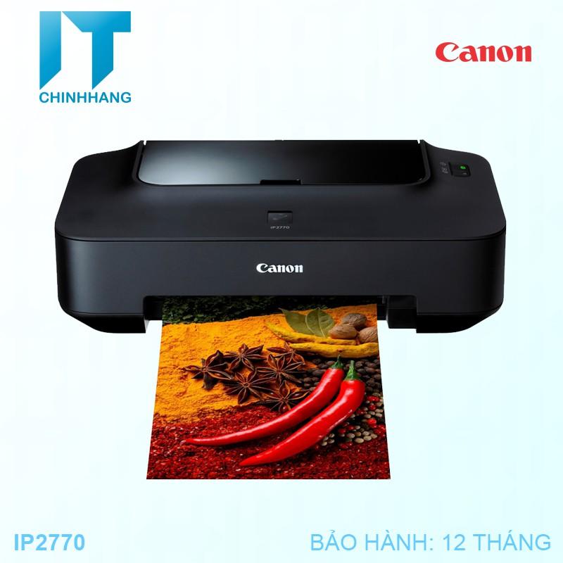 Máy in phun màu Canon IP2770 - Hàng Chính Hãng