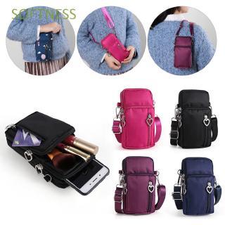 Túi đựng điện thoại đeo chéo vai có nắp lật dành cho bé gái/bạn nữ