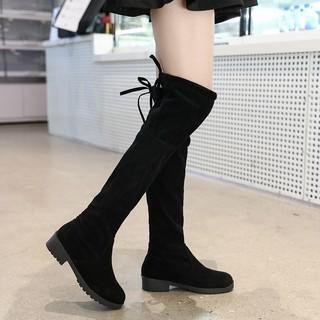 Giày Bốt Cotton Đi Tuyết Cao Quá Gối Thời Trang Cho Bé Gái