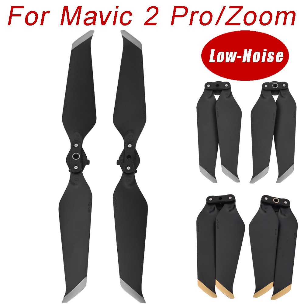 1 Pairs 8743F Low-Noise Quick-Release Propellers Blades For DJI Mavic 2 Pro/Zoom