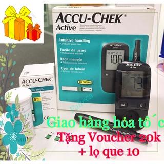 Máy đo đường huyết Accu-Check Active tặng lọ que 10 - Công nghệ từ Đức - Hàng chính thumbnail
