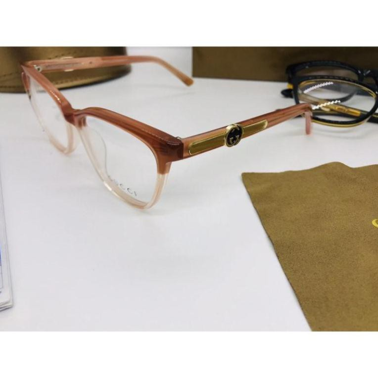 Gọng kính cận Nam Nữ Tphcm chống UV400, thiết kế mắt dễ đeo, màu sắc thời trang Au21