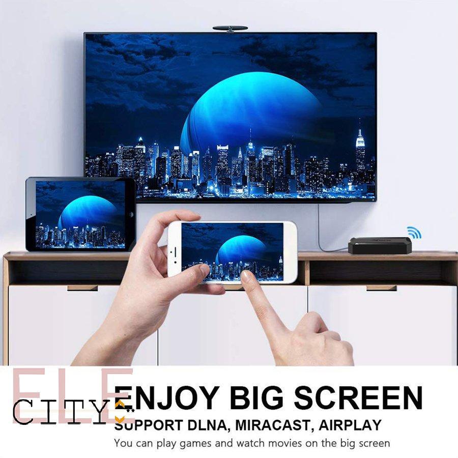 Hộp Tv Thông Minh 4k Android Tv Box - Phụ kiện Tivi