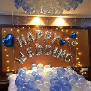 Sét trang trí phòng cưới tone màu xanh thumbnail